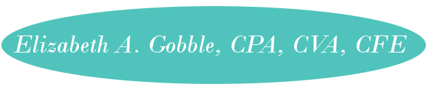 Elizabeth A. Gobble, CPA, CVA, CFE